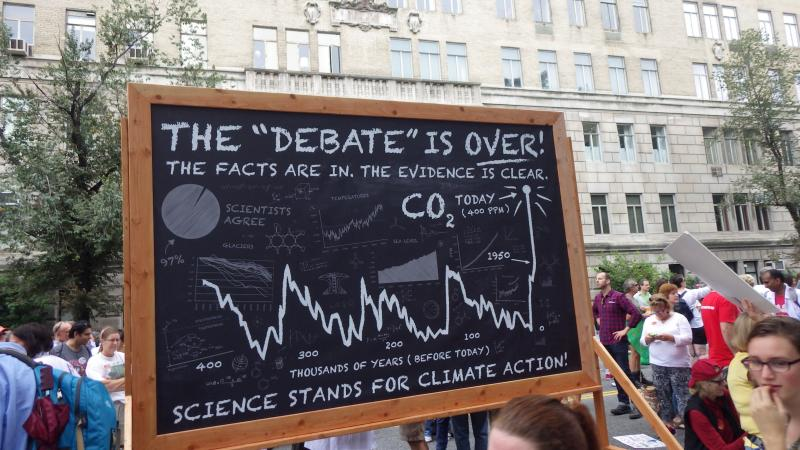 Scientists marched and had something to say.