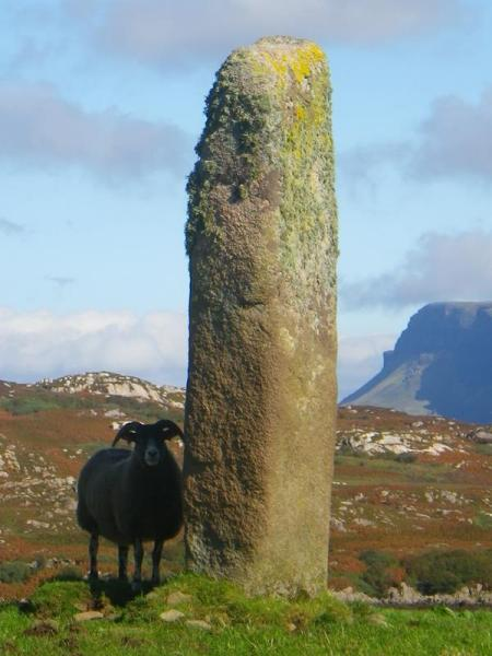 Ancient Standing Stone on Island of Mull