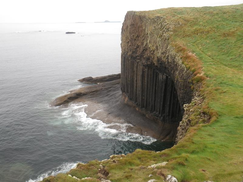 Mouth of Sea Cave on Staffa Island
