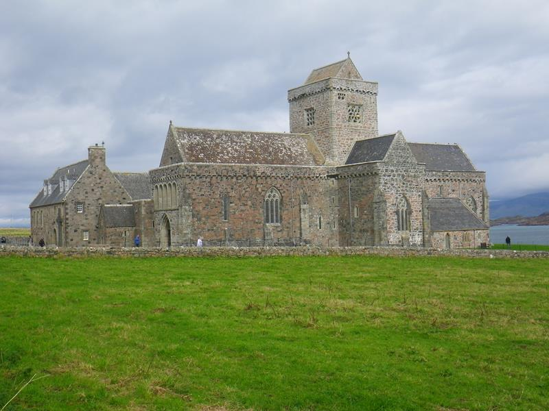 Restored Abbey on Iona